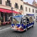 Burgbus der Stadt Budapest