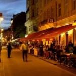 Restaurant in der Radaystrasse in Budapest