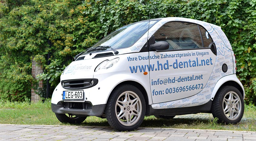 Smart Leihwagen HD Dental in Mosonmagyaróvár