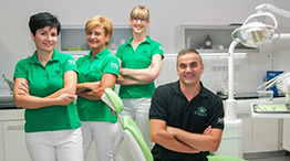 Das Team von Lotus Dental in Hévíz