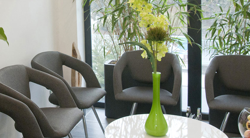 Wartezimmer Lotus Dental